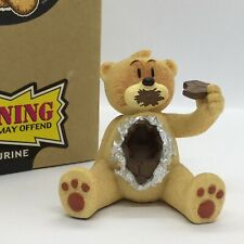 🖤 'BAD TASTE BEAR' COLLECTABLE 'SHELDON' FIGURINE #84 SUPERB CONDITION! BOXED!