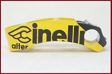 CINELLI ALTER AHEAD THREADLESS STEM ONCE YELLOW BLACK 120mm 1 INCH VINTAGE 90s
