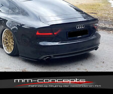 CUP Heckspoiler Ansatz für Audi A7 S-Line S7 MK1 Bj. 10-14 Dach Verlängerung
