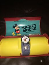 Vintage Mickey Mouse Bradley Time Wrist Watch