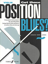 Got Those Position Blues? Solo Learn to Play VIOLIN SONGS FABER Music BOOK