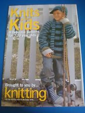 Knits for Kids Knitting Issue 56 Nov 2008 6 Designs Knitting Pattern DK ARAN CH