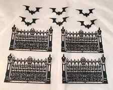 Tim Holtz Halloween Die Cuts: Gothic Gates and Mini Bats!