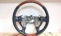 00-05 Cadillac DeVille 01-04 Seville Wood Grain/Leather Steering Wheel  OEM