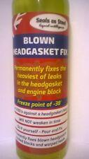 HEAD GASKET SEALER SEALS AS STEEL REPAIR OF STEEL HEAD GASKET PERMANENT SEAL