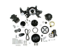 Holley 20-242BK Black Mid-Mount Complete Accessory System Big Block Chevy V8's