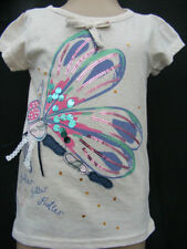 Girls' Novelty/Cartoon Short Sleeve Sleeve Polycotton T-Shirts & Tops (2-16 Years)