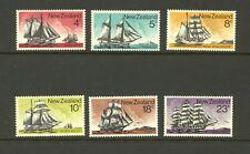 New Zealand 1975 SG 1069-74 Sailing Ships MNH
