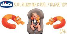 Chicco Baby Soft GATTINO Collo Riposo e di viaggio giocattolo età 6M+ consegna gratuita Nuovo di Zecca