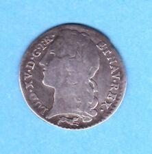 (ROY 44)LOUIS XV DIXIÈME D' ÉCU AU BANDEAU 1763 R (ORLÉANS) TRÈS RARE (R4)