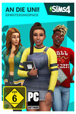 Die Sims 4 - An die Uni - Code in a Box - PC - Neu + OVP
