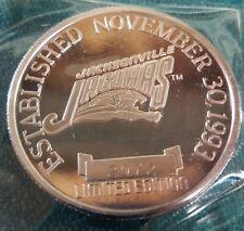 1993 Jacksonville Jaguars 1 Troy Oz .9999 Silver Coin Enviromint NFL