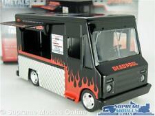 DEADPOOL TACO TRUCK VAN MODEL CAR 1:32 SCALE JADA 30864 BLACK SNACK CATERING K8