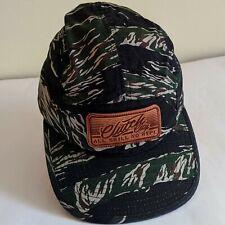 CLUTCH CITY ALL SKILL NO HYPE Baseball Hat Cap Camouflage Adjustable 100% Cotton