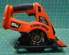Black & Decker CS144 14.4 Volt FireStorm Cordless Circular Saw