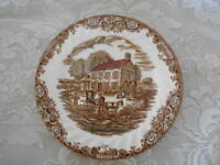 Collectible JOHNSON BROTHERS Heritage Hall Pennsylvania Fieldstone Plate-England