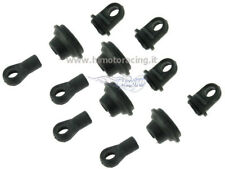 31031 SET AMMORTIZZATORI UPPER LOWER SHOCKMODELLI 1/10 E10 RICAMBI RC HIMOTO