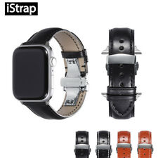 Leather Watch Band 42mm 38mm / 44mm/40mm for Apple Watch Series 1 2 3 4 Strap