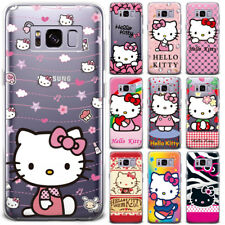 New Hello Kitty Cute Cat Cartoon Ultra Thin Phone Case Cover For Samsung Google