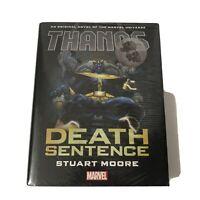 Thanos Death Sentence Prose Novel (2017, Hardcover) Sealed Marvel Avengers