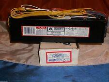 ADVANCE VEL2S110 ELECTRONIC BALLAST 277V/60HZ (2)F96T12/HO VEL-2S110