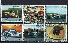 "toller Rennsport- Markensatz "" Paraguay 1983 "" Mich. Nr. 3586-92"
