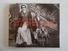 PET SHOP BOYS : I DON'T KNOW WHAT YOU WANT BUT ... [ CD SINGLE ] ~ PORT GRATUIT