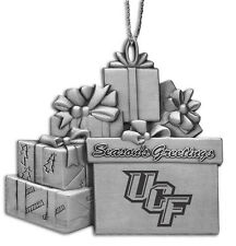 University of Central Florida - Pewter Gift Package Ornament