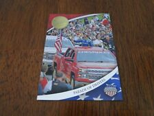 2014 Press Pass American Thunder With Honors Parade of Drivers Card #WH3