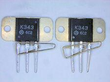 """2SK343 """"Original"""" Hitachi MOSFET Transistor 2 pcs"""
