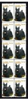 SCOTTISH TERRIER YEAR OF DOG STRIP OF 10 MINT VIGNETTE STAMPS 1