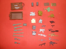 G.I.JOE: ACTION FORCE : ( Lot )  Small Accessories  - HASBRO used.