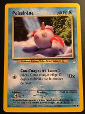 Carte Pokemon POISSIRENE 45/64 Commune Néo révélation Wizard Française NEUF
