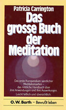 DAS GROSSE BUCH DER MEDITATION - Patricia Carrington - BUCH