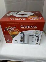 Caffe Cagliari Carina Espresso Station Nespresso Compatible with milk frother