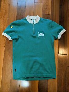 De Marchi Wool Cycling Jersey Ireland Irish Clover 1982 Sean Kelly inspired