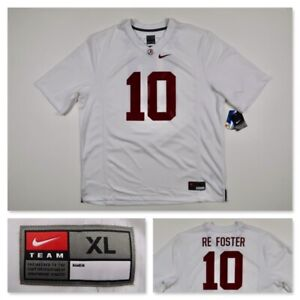 Reuben Foster Alabama Crimson Tide Men's Nike #10 Football Jersey NCAA Size XL