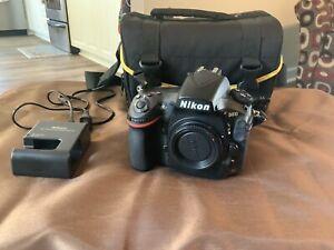 Nikon D810 FX 36.3MP Digital SLR Camera - Black (Body Only) Shutter Count 8798