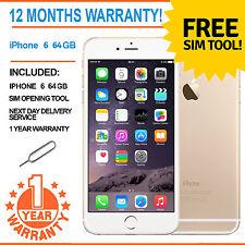 Apple iPhone 6 64GB EE Naranja-Mobile Virgin-Champagne T Oro