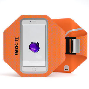 Universal Sport Phone Armband Bag Jogging Smartphone Fitness Arm Band Orange