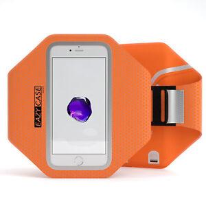 Universal Sport Phone Armband Bag Jogging Smartphone Fitness Arm Band Orange