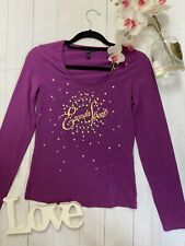 Escada Sport Size S 10 purple long sleeve casual summer t shirt casual stretchy