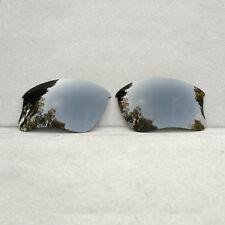 Polarized Black Replacement Lenses for-Oakley Flak Jacket XLJ Sunglasses