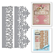 SPELLBINDERS Nestabilities GRACEFUL DAMASK BORDERS S4-707 Cut Emboss Stencil