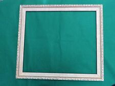 Vintage Large Wood Gesso Gilded  Picture Frame for an Oil Painting,Mirror,Print