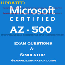 AZ-500 real Exam dumps Questions answers  and simulator