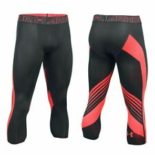 Under Armour Mens Heatgear Supervent 2.0 3/4 Leggings Gym Tight 1289581 016 XL