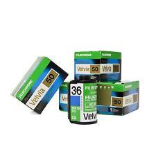 5x Fujifilm Fuji Velvia 50 RVP 135-35 Diafilm Kleinbildfilm Kleinbild Farbfilm