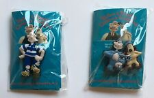 WALLACE AND GROMIT CHILDREN'S FOUNDATION - 2 x PIN BADGES - NEW