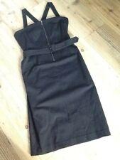 ⭐️STILLS⭐️ Black~Tailored~Pinafore Dress. Size 10